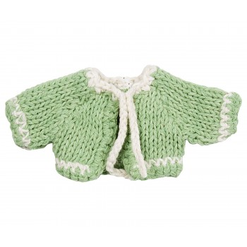 Micro, Knitted cardigan, Green