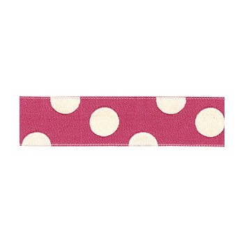 Red polkadots ribbon.