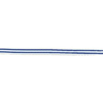 Cinta raya doble azul cobalto