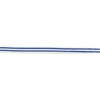 Double Stripe blue cobalt Ribbon