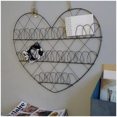 Corazón panel de zinc