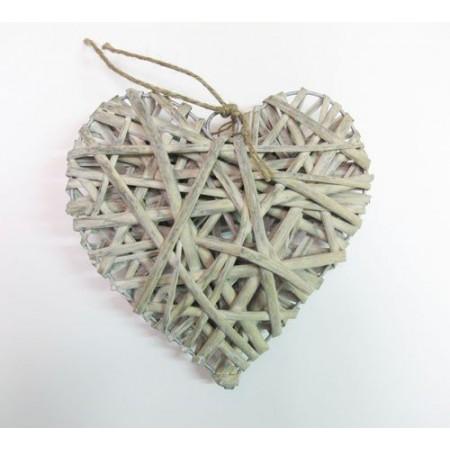 Corazón de madera 20cm