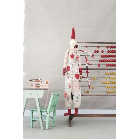 Dark grey dress Pixy Elf advent calendar (XL)