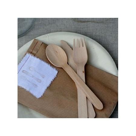Cuchara bambú