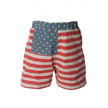 Pantalón corto rayas (Mega)