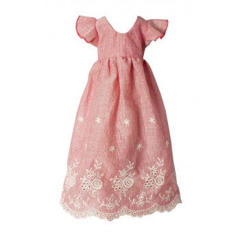 Pink embroidered dress (Mega)