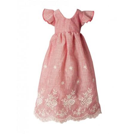 Pink embroidered dress (Mega)
