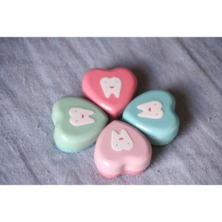 Caja corazón Mis dientes