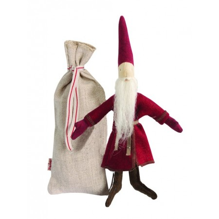 Soft toy Santa Claus with bag (XS)