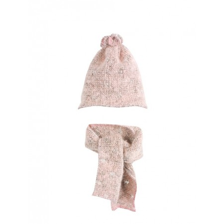 knitted Hat and scarf (Medium)