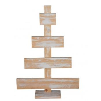 Árbol de Navidad madera palet