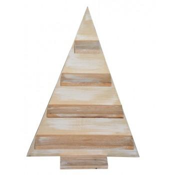 Árbol de Navidad madera triángulo