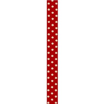 Red Polka dots Adhesive Tape