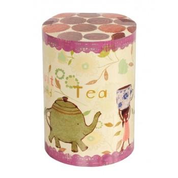 Caja de lata Tea