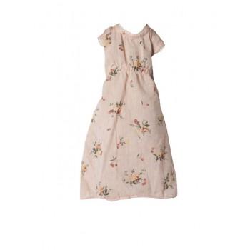 Vestido rosa estampado (Medium)