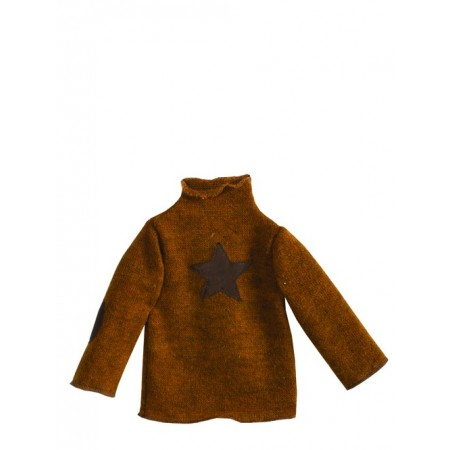 Jersey de manga larga con estrella( Medium)