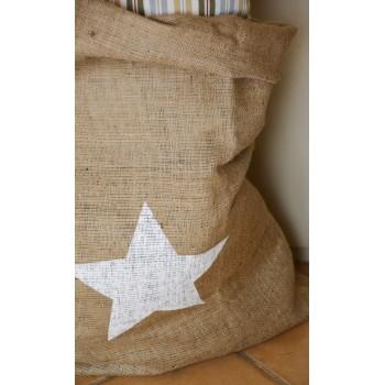 Saco  Estrella Blanca