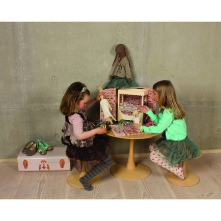Vestido verde para muñeco (S)