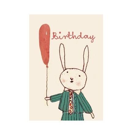 Happy Birthday postcard boy