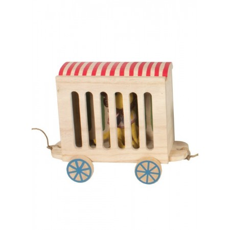 Circus cage carriage