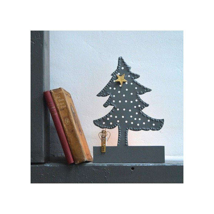 christmas tree candle holder in blaubloom