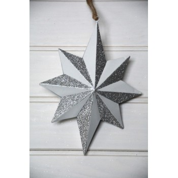 Decorative white star