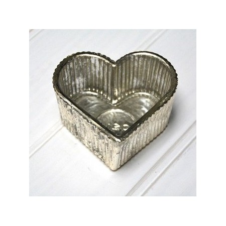 Zinc foot candle holder star