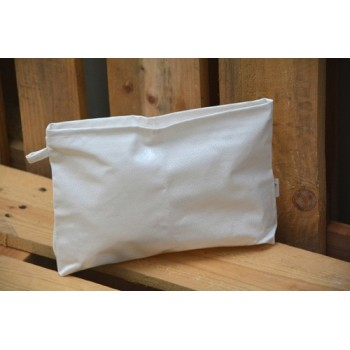 Peace white Toilet Bag