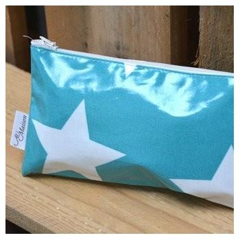 Mint Big Star Cosmetic bag