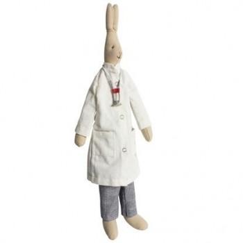 Doctor Stuffed Bunny (Medium)