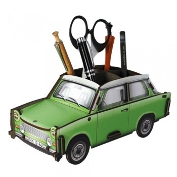 Pencil Holder green Trabant 601 car
