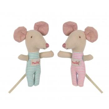 Muñeco ratoncitos gemelos en caja (baby)