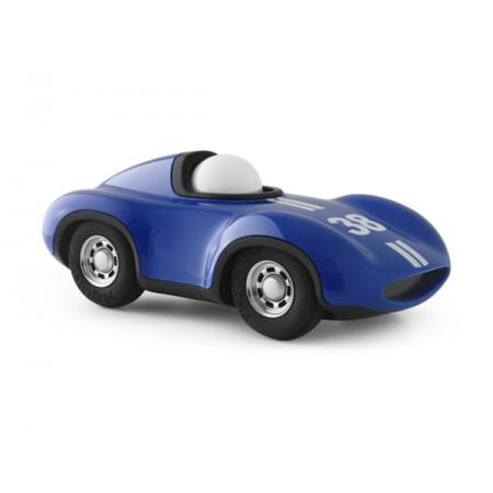 Coche azul  Le Mans 17cm