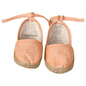 Coral espadrille (Medium)