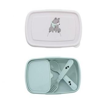 Lunch Box, sky blue