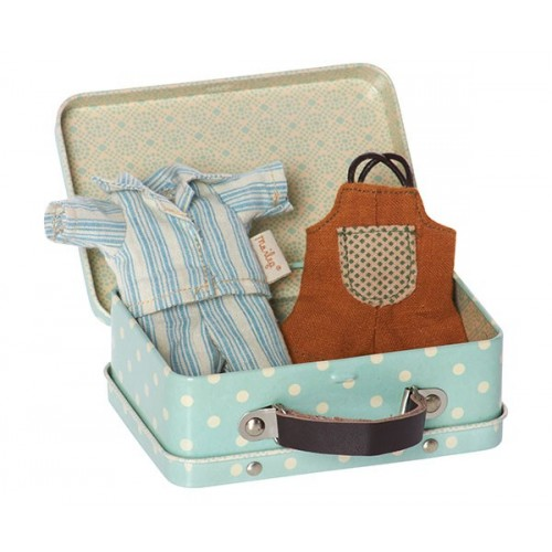 Suitcase, for boy incl 2 set clothes (Micro)