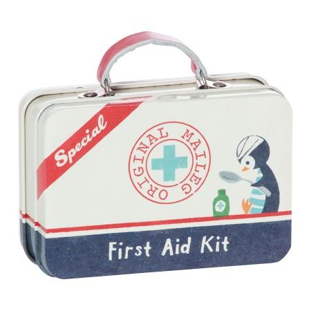 Caja de lata Maleta primeros auxilios