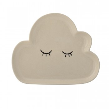 Cloud plate with eyes
