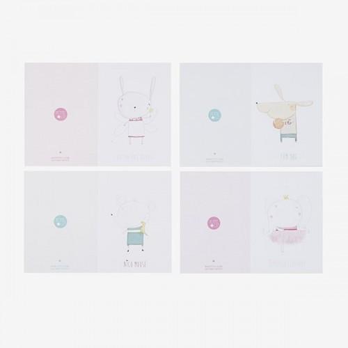 Petite Lu Postcard (pack 4u)