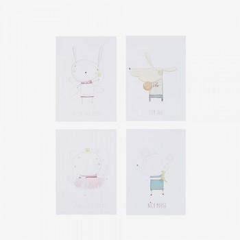 Tarjeta Petite Lu (pack 4 u.)