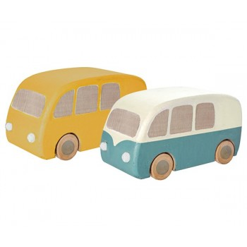 Autobús de madera