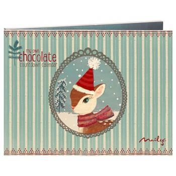 Calendario de Adviento de chocolate