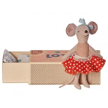 Muñeco Ratoncita con falda en caja (Big)
