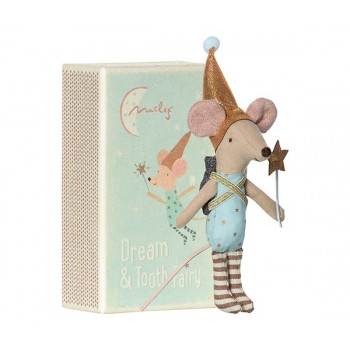 Mouse tooth fairy in box, boy