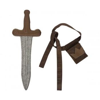 Sword with belt