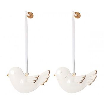 Metal bird ornament