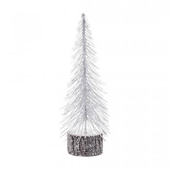Tree white glitter (30 cm)