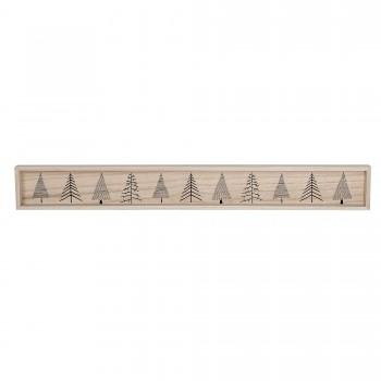 Bandeja de madera alargada 80 cm