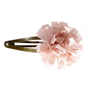 Horquilla clips flor Rosa.