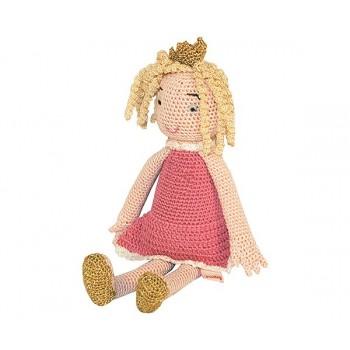 Muñeca Princesa de Crochet